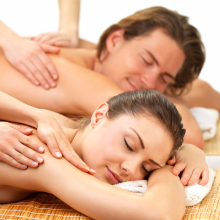 couples massage photo